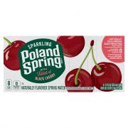 Poland Spring Sparkling Black Cherry Natural Spring Water