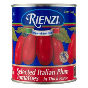 Rienzi Selected Italian Plum Tomatoes in Thick Puree
