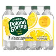 Poland Spring Sparkling Lively Lemon Water