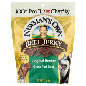 Newman's Own Original Beef Jerky Dog Food