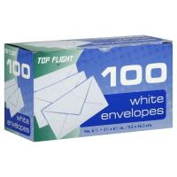 Top Flight Envelopes Plain #6.75