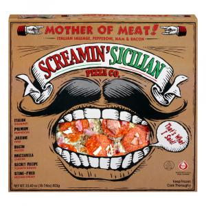 Screamin' Sicilian Mother of Meat Pizza