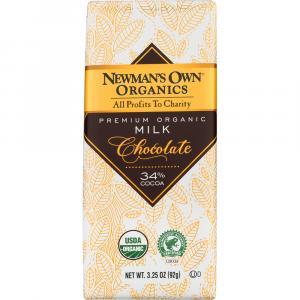 Newman's Own Organics Milk Chocolate Bar