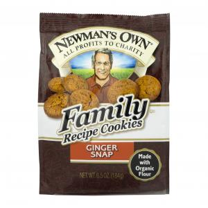 Newman's Own Ginger Snaps Family Recipe Cookies