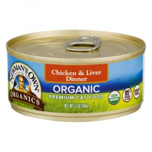Newman's Own Grain Free Chicken and Liver