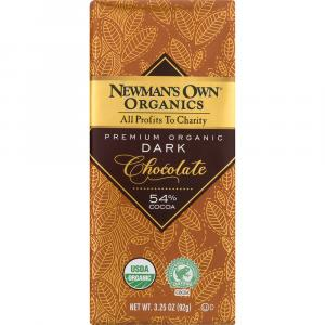 Newman's Own Organics Dark Chocolate Bar