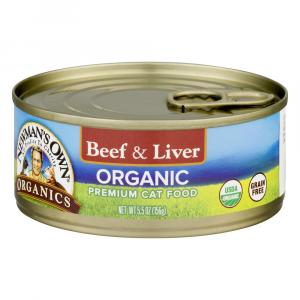 Newman's Own Organics Beef & Liver Grain Free Cat Food