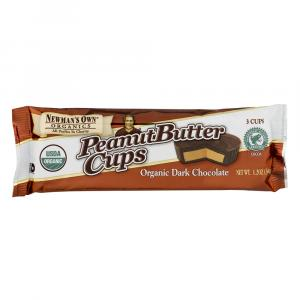 Newman's Own Organic Dark Chocolate Peanut Butter Cups