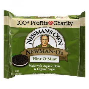 Newman-O's Creme Filled Cookies - Hint-O-Mint