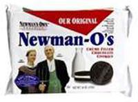 Newman-o's Chocolate Cookies