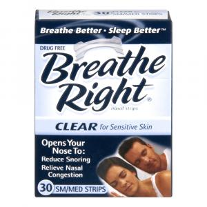 Breathe Right Clear Small/Medium Nasal Strips