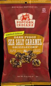 Popcorn Indiana Dark Fudge Sea Salt Caramel