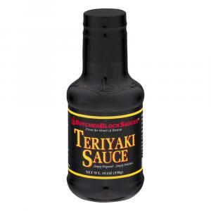 Butcher Block Sauces Teriyaki Sauce