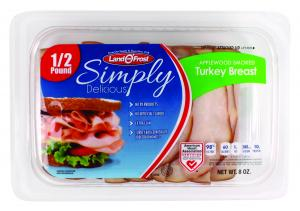 Land O' Frost Simply Delicious Applewood Smoked Turkey
