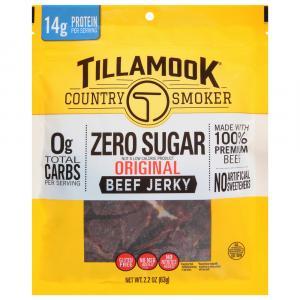Tillamook Country Smoker Zero Sugar Original Beef Jerky