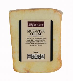 Taste of Inspirations Yellow Muenster Chunk Cheese