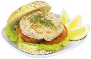 Maple Bbq Salmon Burger - Farm Raised