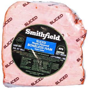Smithfield Maple Quarter Sliced Ham
