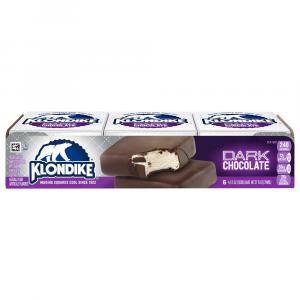Klondike Dark Chocolate Ice Cream Bars