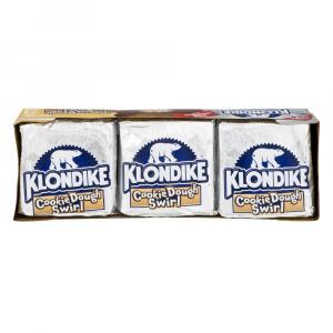 Klondike Cookie Dough Swirl Ice Cream Bars
