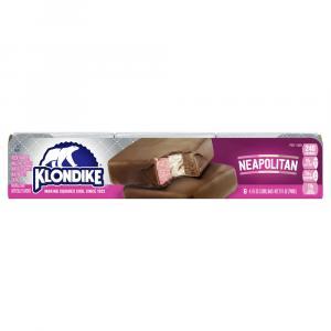 Klondike Neopolitan Ice Creams Bars