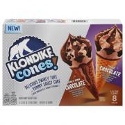 Klondike Cones Double Chocolate Ice Cream