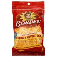 Borden Cheddar & Monterey Jack Shredded Cheese