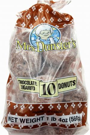 Mrs. Dunster's Chocolate Sugar Donuts