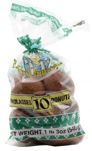 Mrs. Dunster's Molasses Donuts