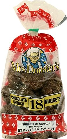 Mrs. Dunster's Chocolate Crunch Nuggets