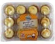 Two-Bite Pumpkin Spice Cupcakes