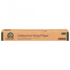 If You Care Unbleached All Natural Waxed Paper