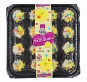 Two-Bite Spring Brownie Platter
