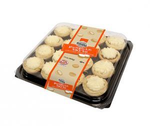 Two-Bite Pumpkin Tarts With Cream Cheese