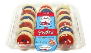 Kimberley's Bakeshoppe Mini Vanilla Frosted Sugar Cookies