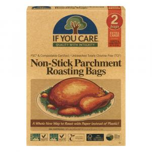 If You Care Large Non-stick Parchment Roasting Bags