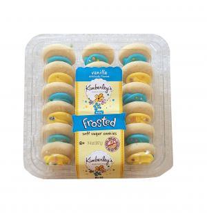 Kimberly's Bakeshoppe Mini Vanilla Frosted Sugar Cookies