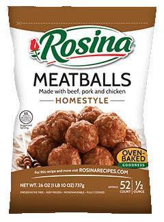 Rosina Homestyle Meatballs