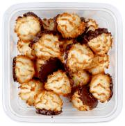 Two-Bite Coconut Macaroons Chocolate Dipped