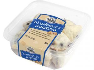 Two-Bite Blueberry Scones