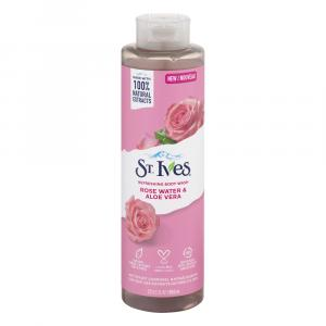 St. Ives Rose Water & Aloe Vera Refreshing Body Wash