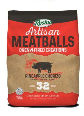 Rosina Pineapple Chorizo Meatballs