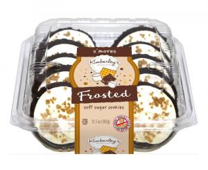 Kimberley's Bakeshoppe S'mores Frosted Soft Sugar Cookies
