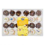 Two-Bite Chocolate & Vanilla Mini Cupcakes