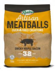 Rosina Smoky Maple Bacon Meatballs