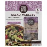 Second Nature Fruit & Walnut Salad Medleys