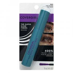 Covergirl Super Sizer Fiber Mascara Very Black
