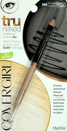 Covergirl TruNaked Cashmere/Espresso Waterproof Eyeliner