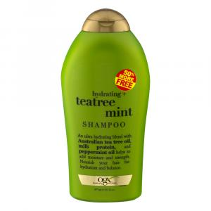 OGX Teatree Mint Shampoo 50% More Free