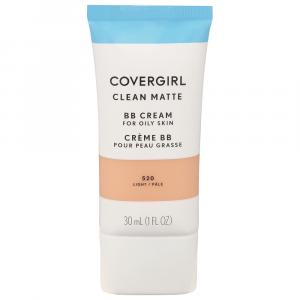 Covergirl Clean Matte Make Up Cream Light